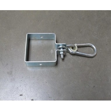 Patio post grey 1x60W 230V