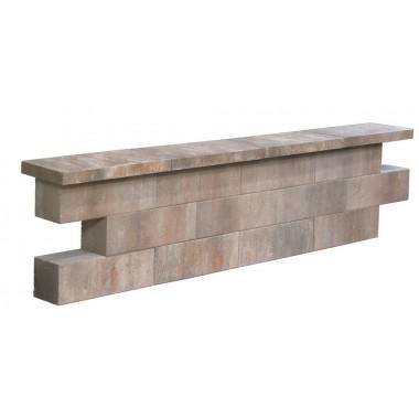 Graniwall Grey 40x16x8 cm