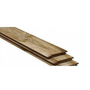 Imprägniertes Holz
